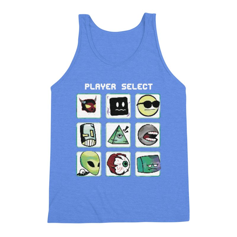 Player Select (NES edition) Men's Triblend Tank by Viable Psyche