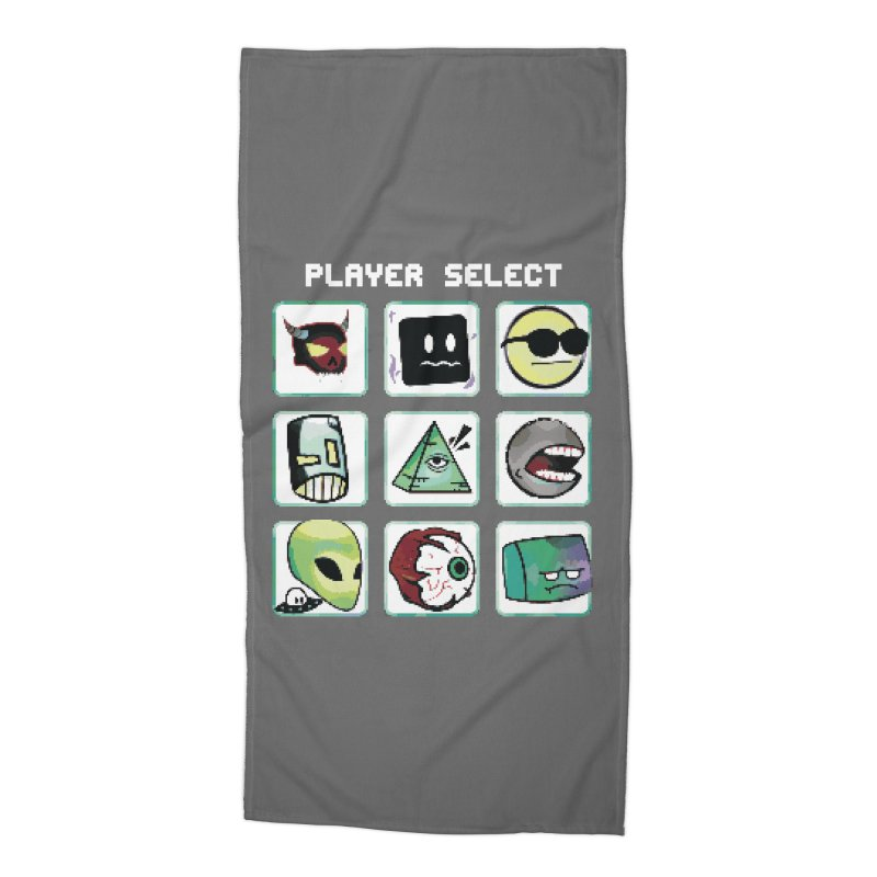 Player Select (NES edition) Accessories Beach Towel by Viable Psyche