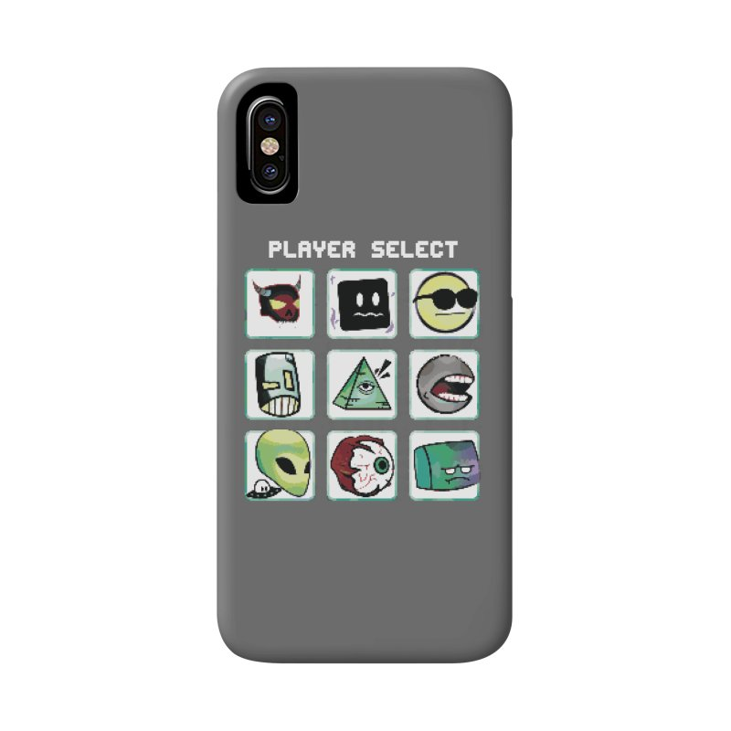 Player Select (NES edition) Accessories Phone Case by Viable Psyche