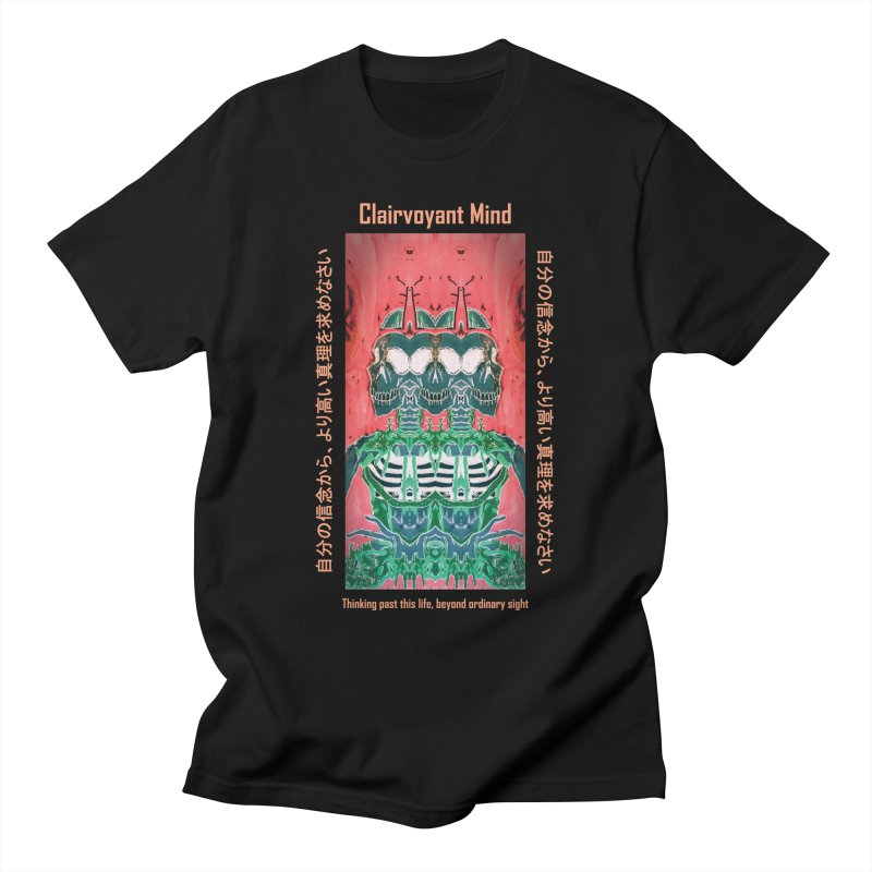 Clairvoyant Mind Men's T-Shirt by Viable Psyche