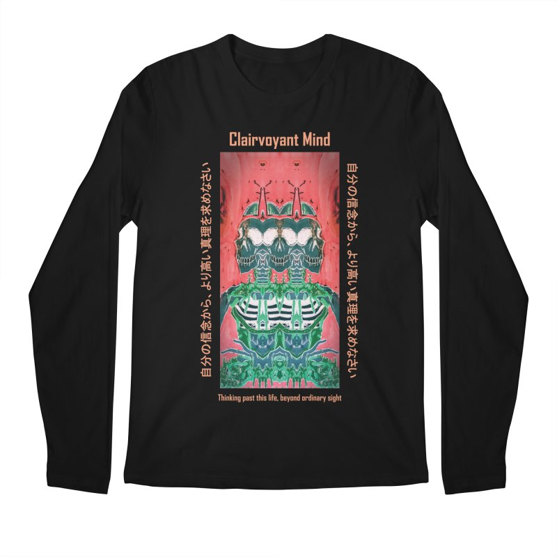 Clairvoyant Mind Men's Regular Longsleeve T-Shirt by Viable Psyche