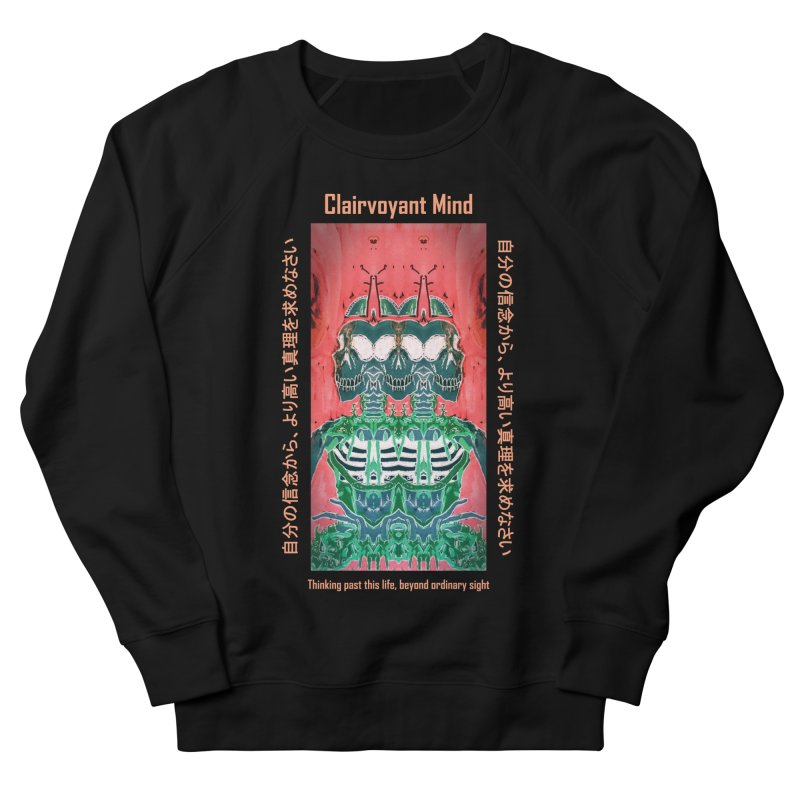 Clairvoyant Mind Women's French Terry Sweatshirt by Viable Psyche