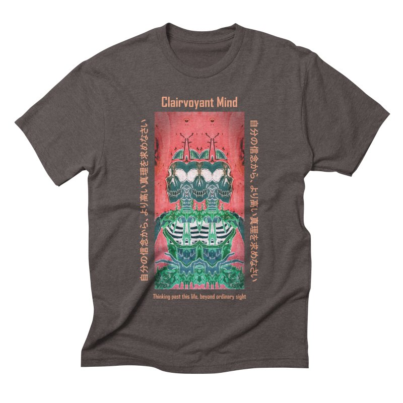 Clairvoyant Mind Men's Triblend T-Shirt by Viable Psyche