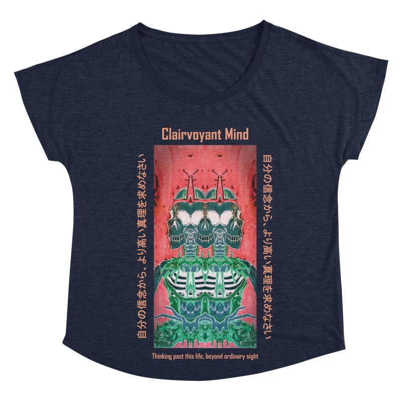 Clairvoyant Mind Women's Dolman Scoop Neck by Viable Psyche
