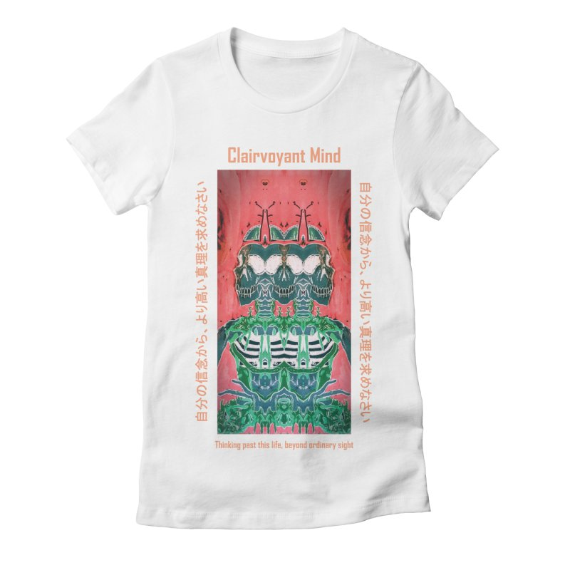 Clairvoyant Mind Women's Fitted T-Shirt by Viable Psyche