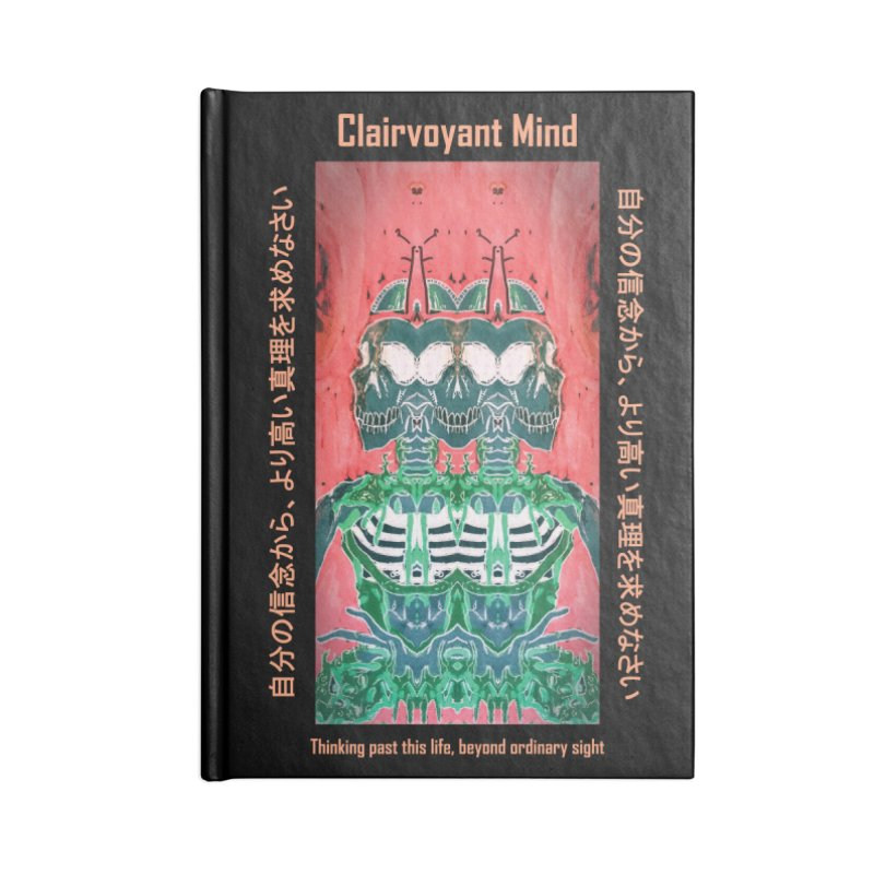 Clairvoyant Mind Accessories Blank Journal Notebook by Viable Psyche