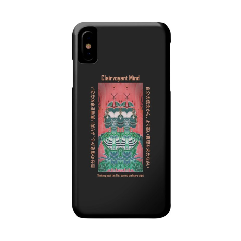 Clairvoyant Mind Accessories Phone Case by Viable Psyche