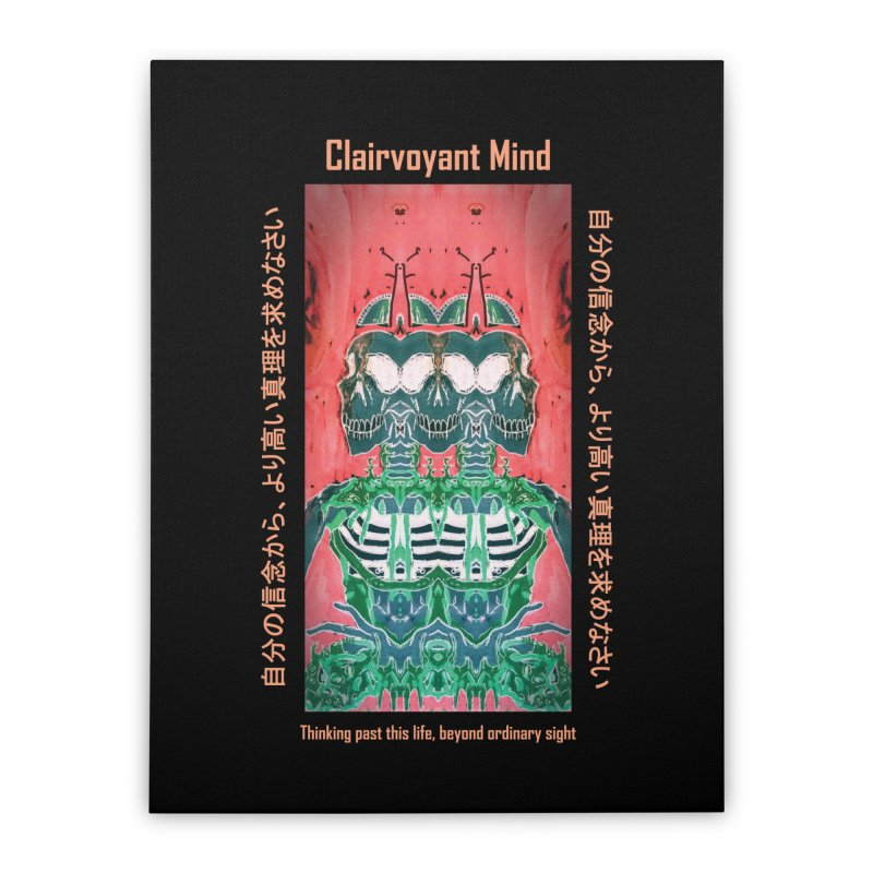 Clairvoyant Mind Home Stretched Canvas by Viable Psyche