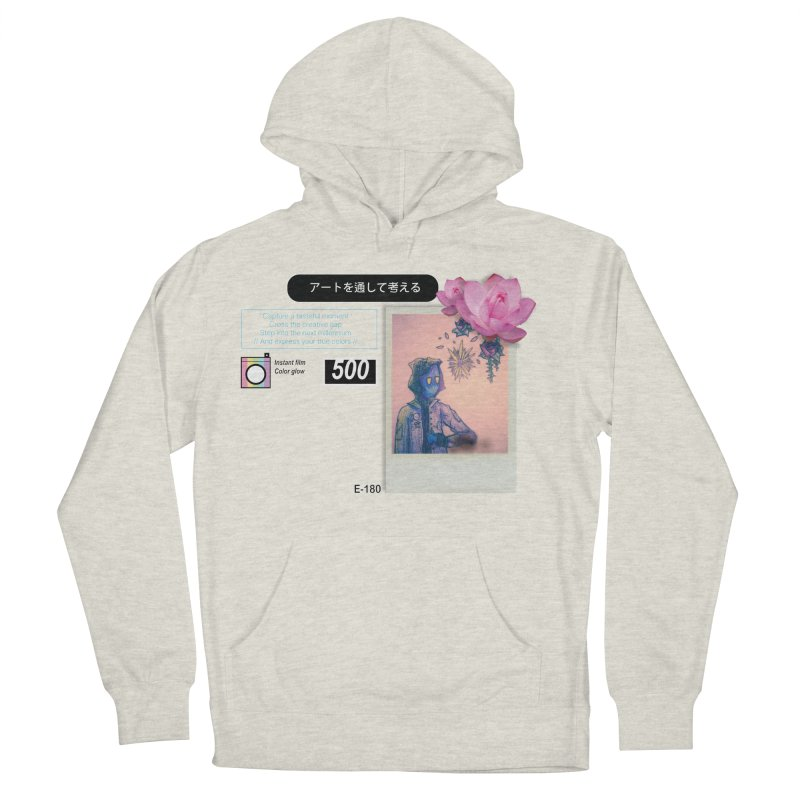 Vintage Bloom Women's French Terry Pullover Hoody by Viable Psyche