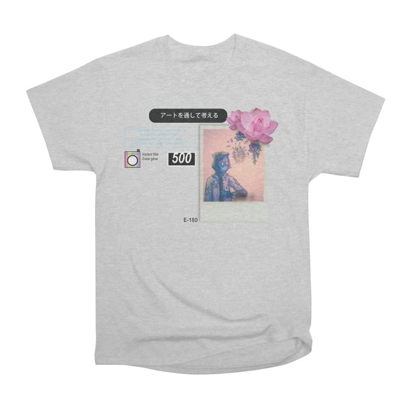 Vintage Bloom Men's Heavyweight T-Shirt by Viable Psyche
