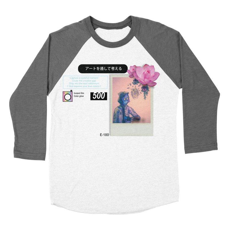 Vintage Bloom Women's Baseball Triblend Longsleeve T-Shirt by Viable Psyche