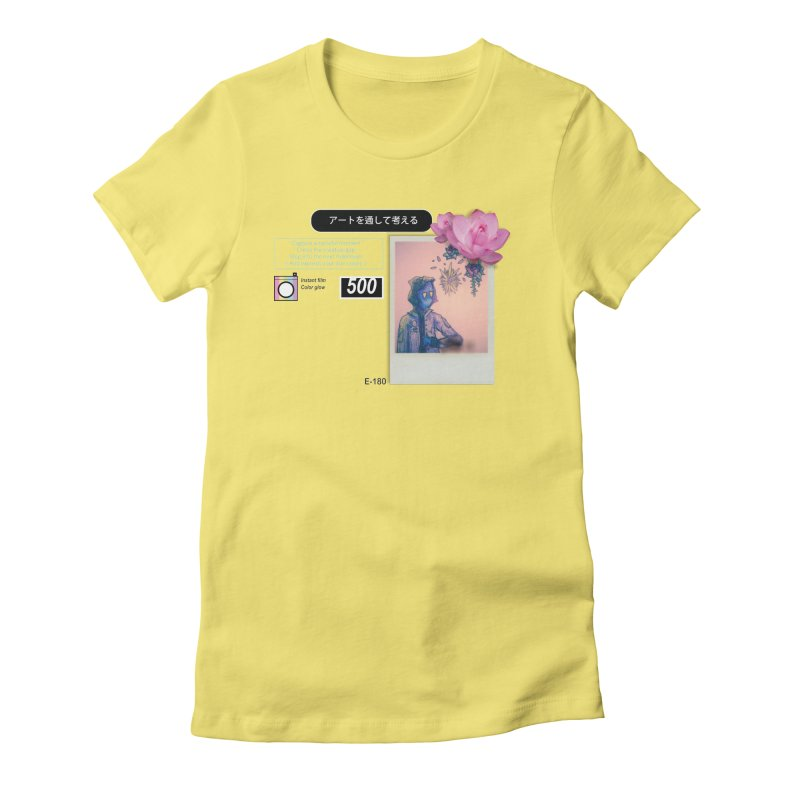 Vintage Bloom Women's T-Shirt by Viable Psyche