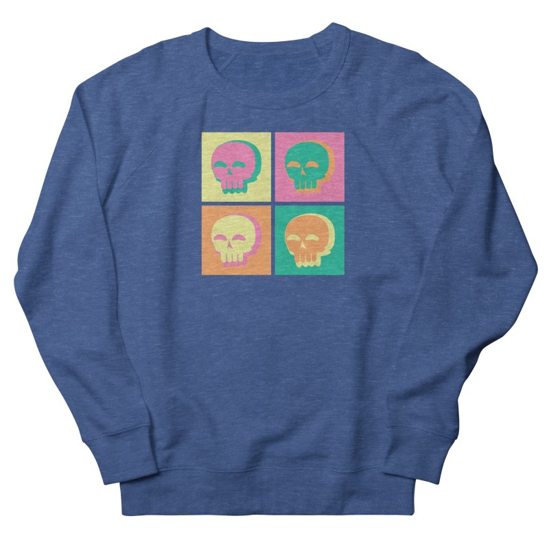 Pop Art Skulls Men's Sweatshirt by Viable Psyche