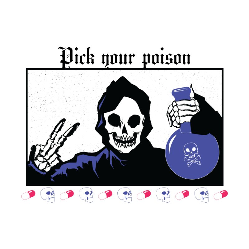 Pick your poison Home Stretched Canvas by Viable Psyche