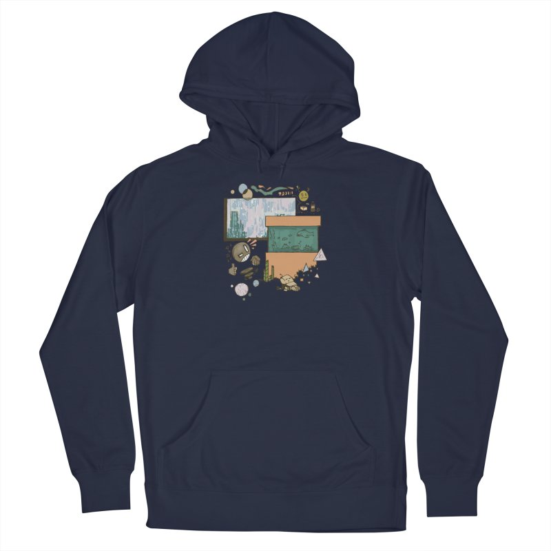 Rainy Day Men's Pullover Hoody by Viable Psyche