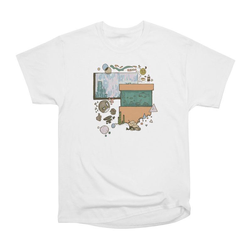 Rainy Day Men's Heavyweight T-Shirt by Viable Psyche