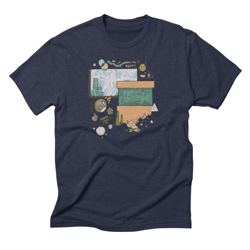 Rainy Day Men's Triblend T-Shirt by Viable Psyche
