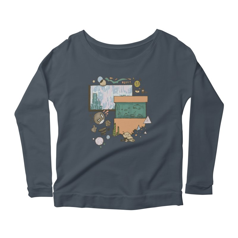 Rainy Day Women's Longsleeve T-Shirt by Viable Psyche
