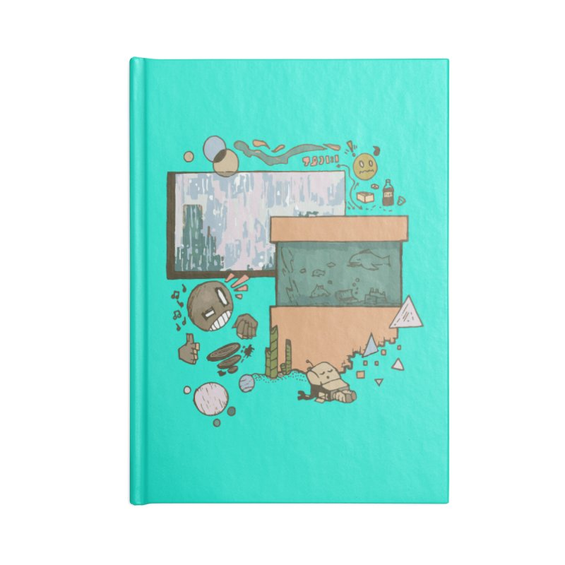 Rainy Day Accessories Lined Journal Notebook by Viable Psyche