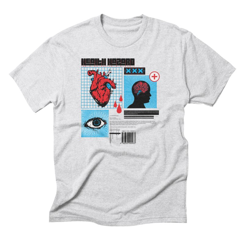 Health Hazard Men's T-Shirt by Viable Psyche