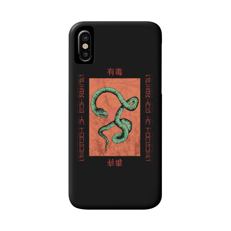 Speaking in Tongues Accessories Phone Case by Viable Psyche