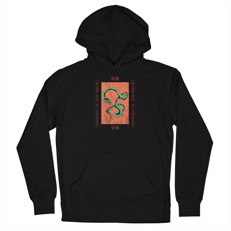 Speaking in Tongues Women's French Terry Pullover Hoody by Viable Psyche