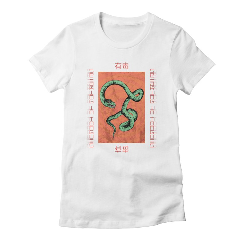 Speaking in Tongues Women's T-Shirt by Viable Psyche