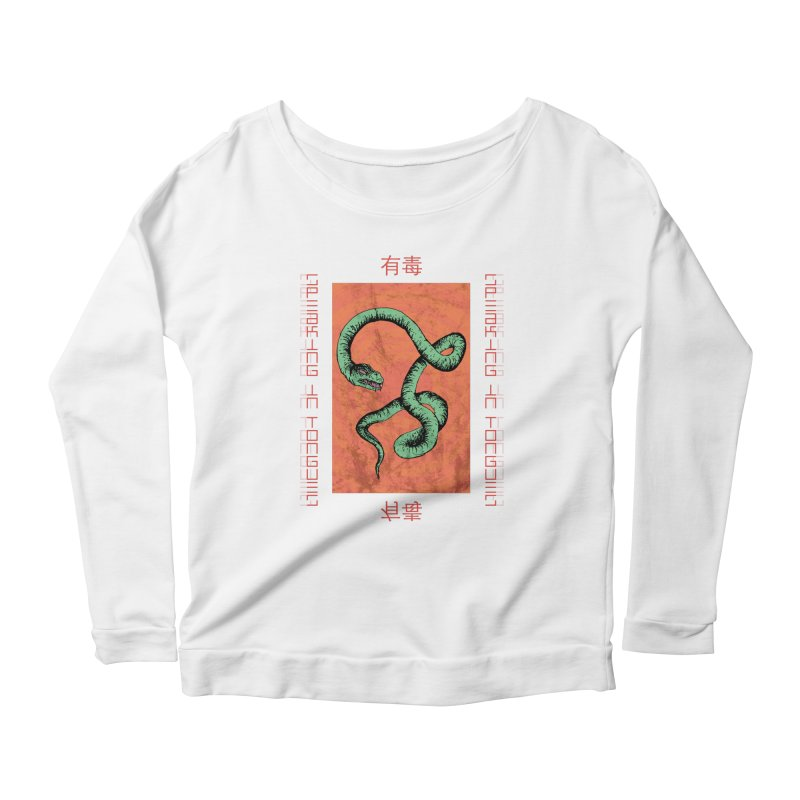 Speaking in Tongues Women's Scoop Neck Longsleeve T-Shirt by Viable Psyche