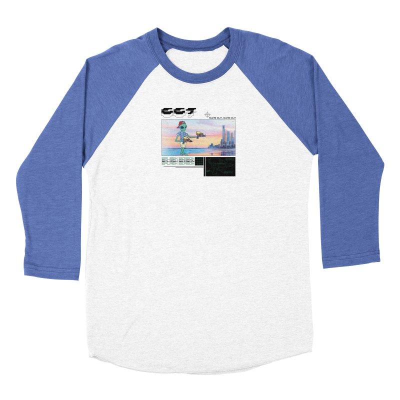 Splash Season Women's Baseball Triblend Longsleeve T-Shirt by Viable Psyche