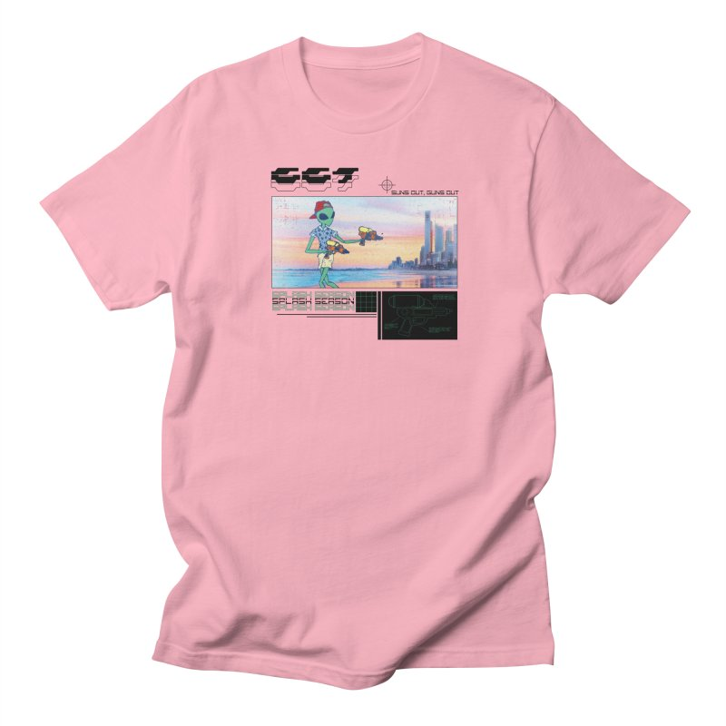 Splash Season Men's T-Shirt by Viable Psyche