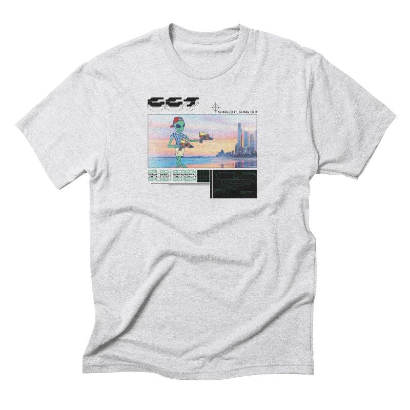 Splash Season Men's Triblend T-Shirt by Viable Psyche