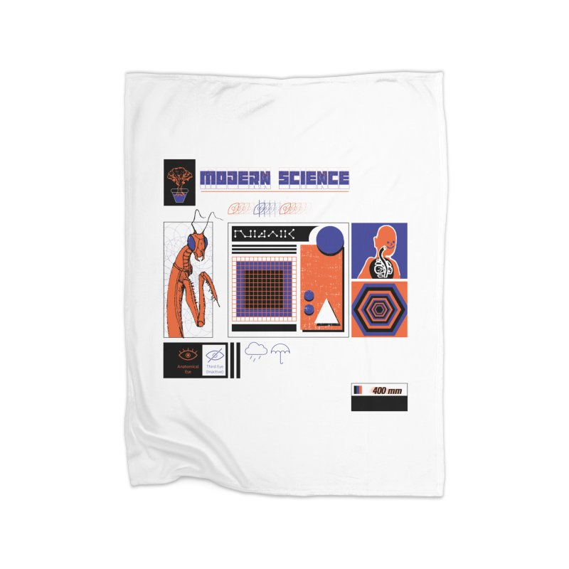 Modern Science Home Blanket by Viable Psyche