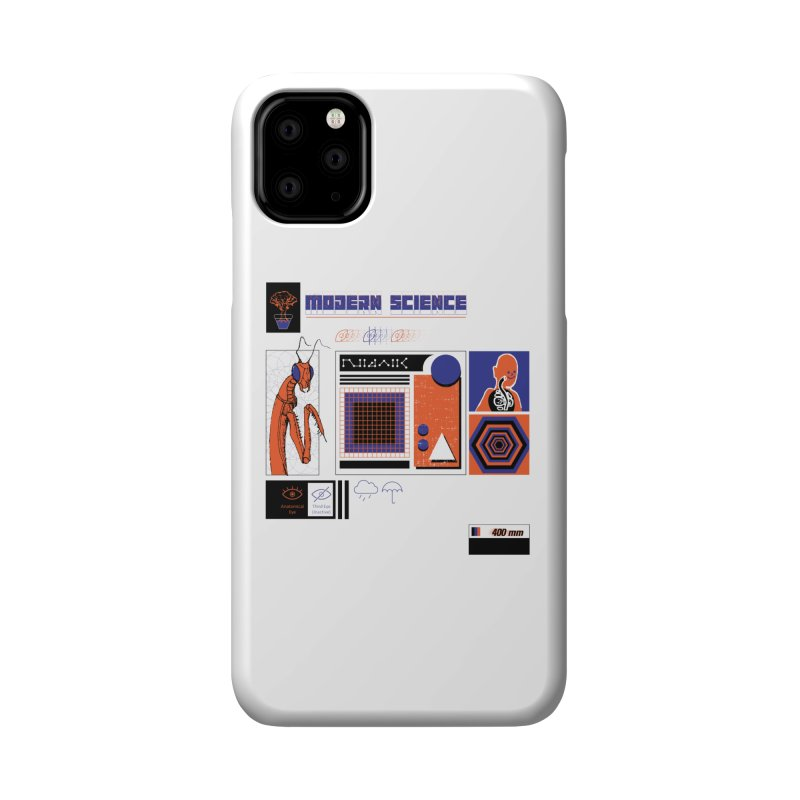 Modern Science Accessories Phone Case by Viable Psyche