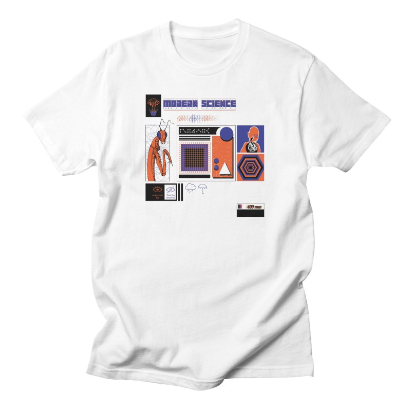Modern Science Men's T-Shirt by Viable Psyche