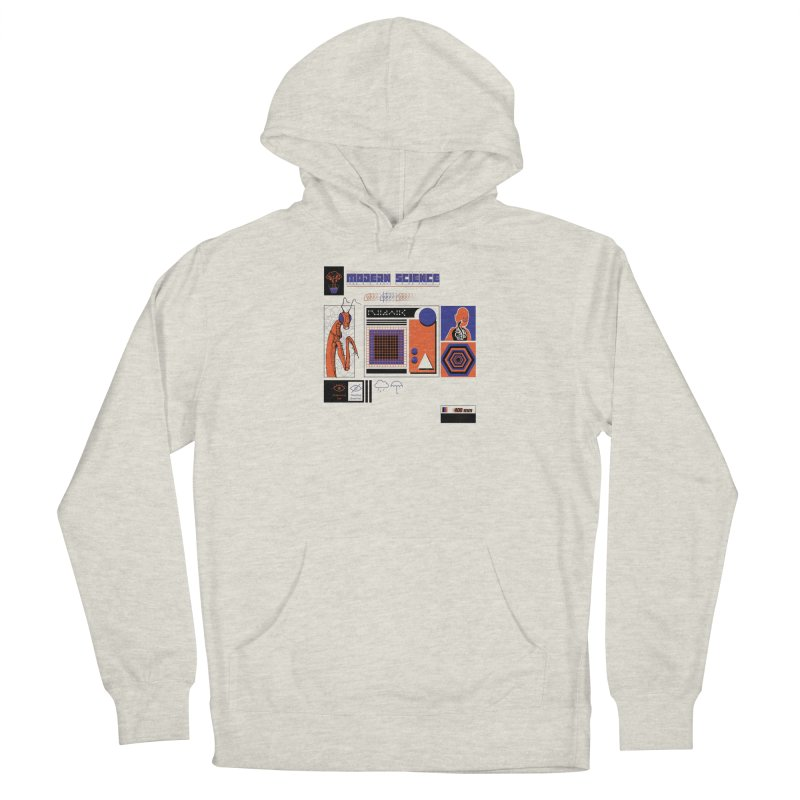 Modern Science Men's French Terry Pullover Hoody by Viable Psyche
