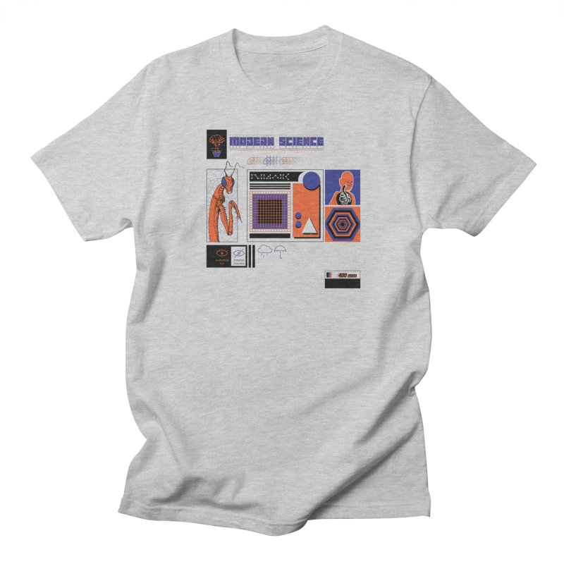 Modern Science Men's Regular T-Shirt by Viable Psyche