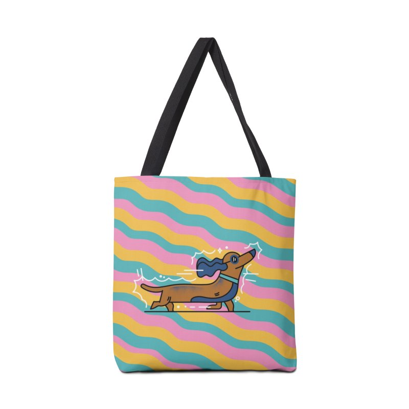 Hot Dog Accessories Tote Bag Bag by Adamkoon's Artist Shop