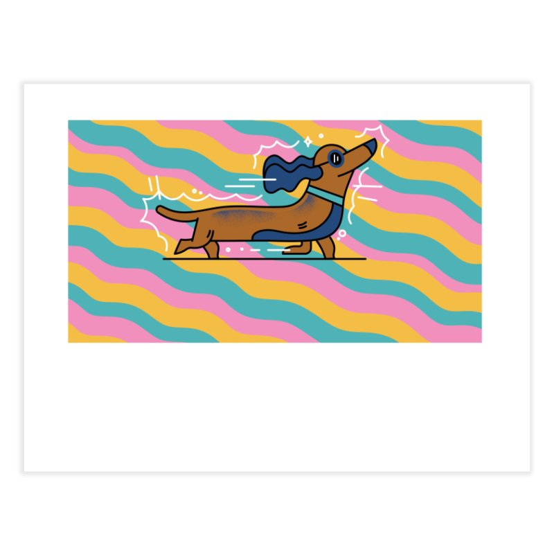 Hot Dog Home Fine Art Print by Adamkoon's Artist Shop