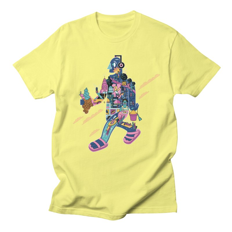 NYC Men's Regular T-Shirt by Adamkoon's Artist Shop