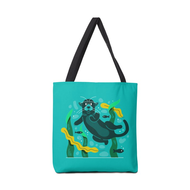 Otter Accessories Tote Bag Bag by Adamkoon's Artist Shop