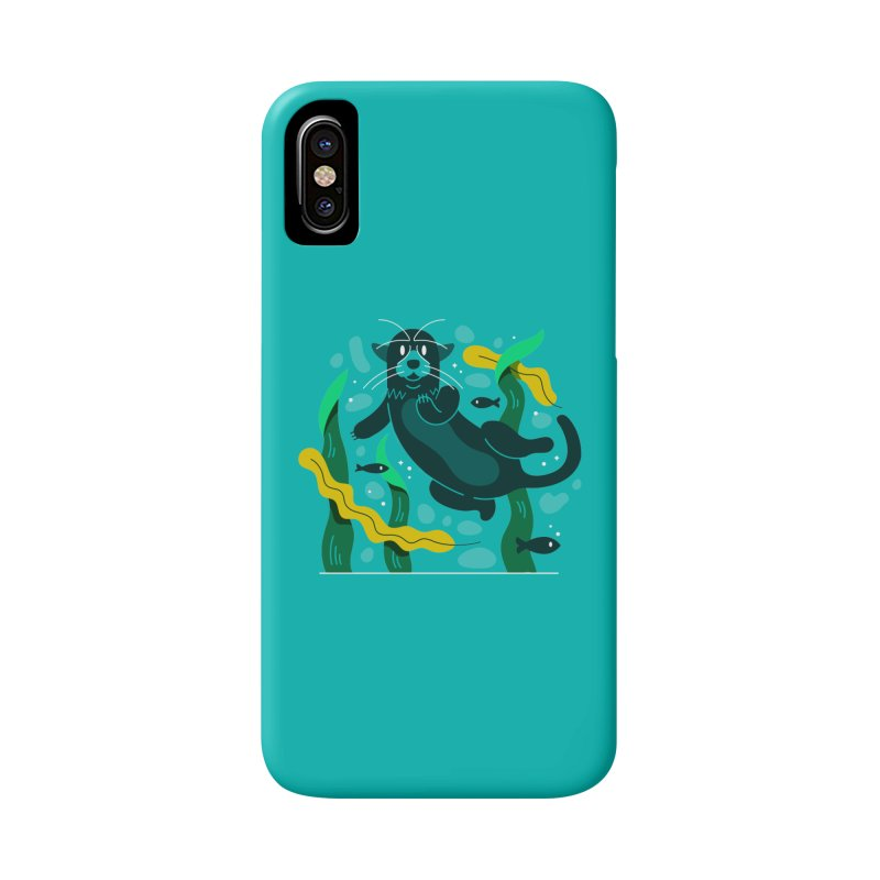 Otter Accessories Phone Case by Adamkoon's Artist Shop