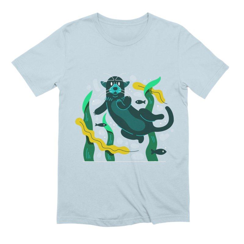 Otter Men's Extra Soft T-Shirt by Adamkoon's Artist Shop
