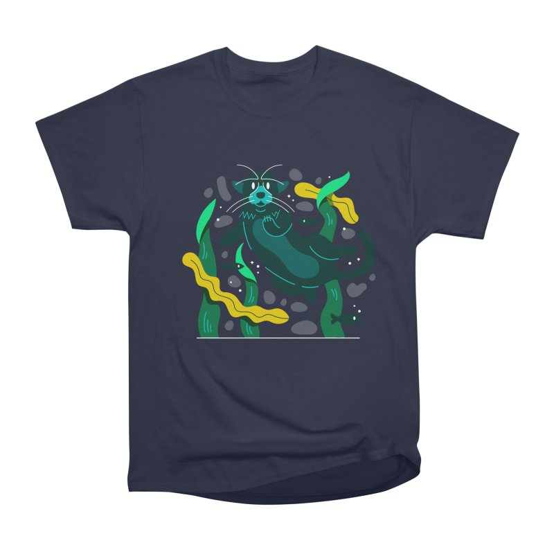 Otter Men's Heavyweight T-Shirt by Adamkoon's Artist Shop