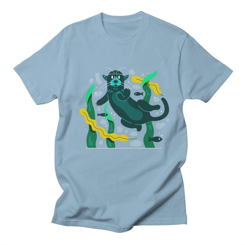 Otter Women's Regular Unisex T-Shirt by Adamkoon's Artist Shop