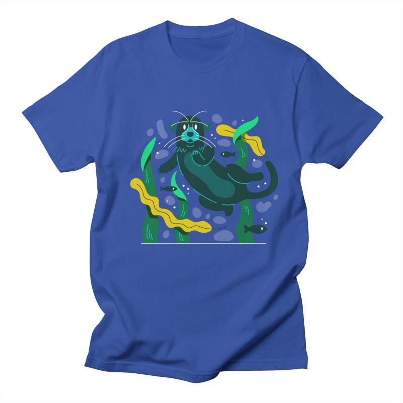 Otter Men's Regular T-Shirt by Adamkoon's Artist Shop