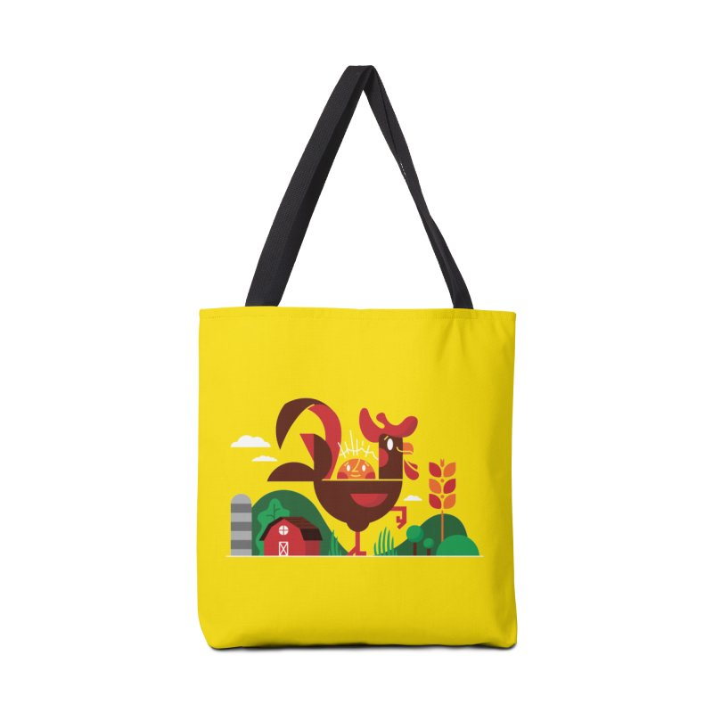 Farm Chicken Accessories Tote Bag Bag by Adamkoon's Artist Shop