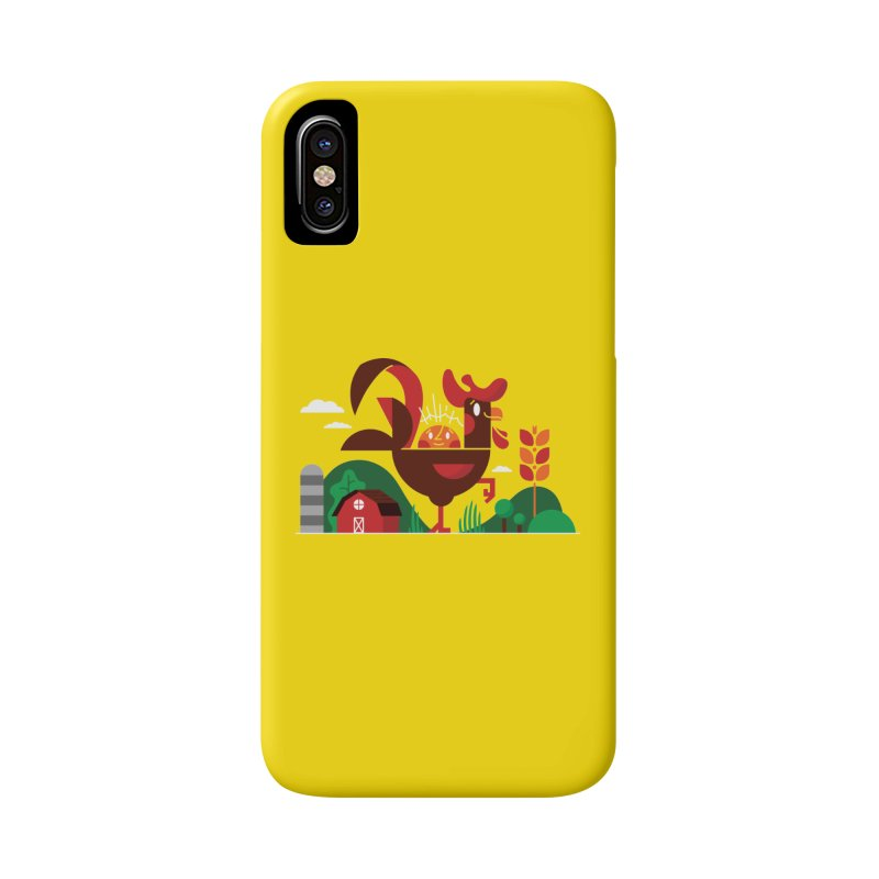 Farm Chicken Accessories Phone Case by Adamkoon's Artist Shop