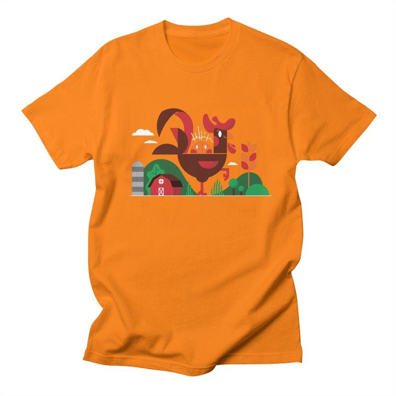 Farm Chicken Women's Regular Unisex T-Shirt by Adamkoon's Artist Shop