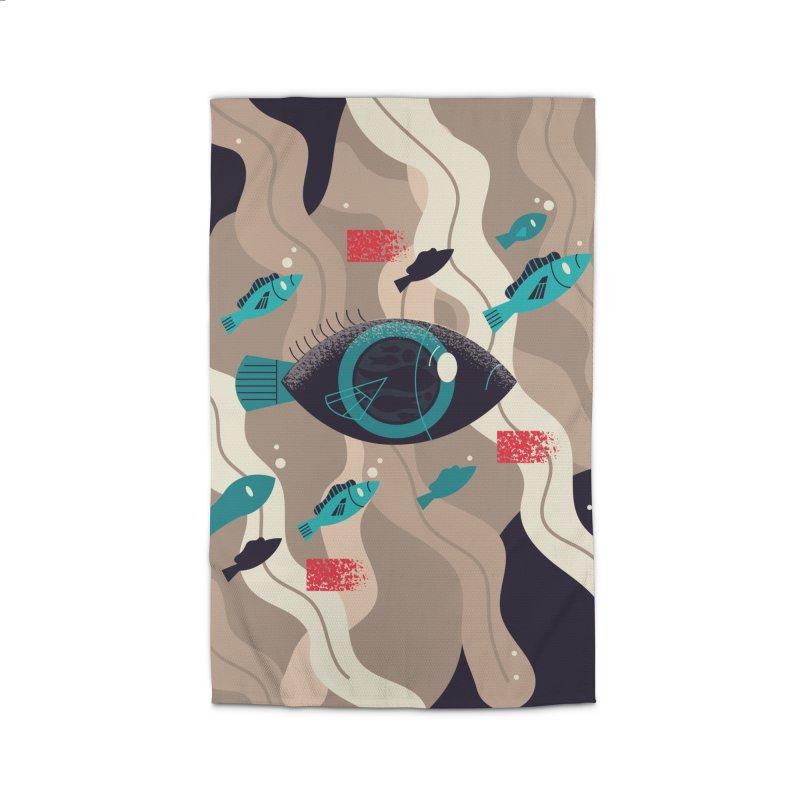 Fish Eye Home Rug by Adamkoon's Artist Shop