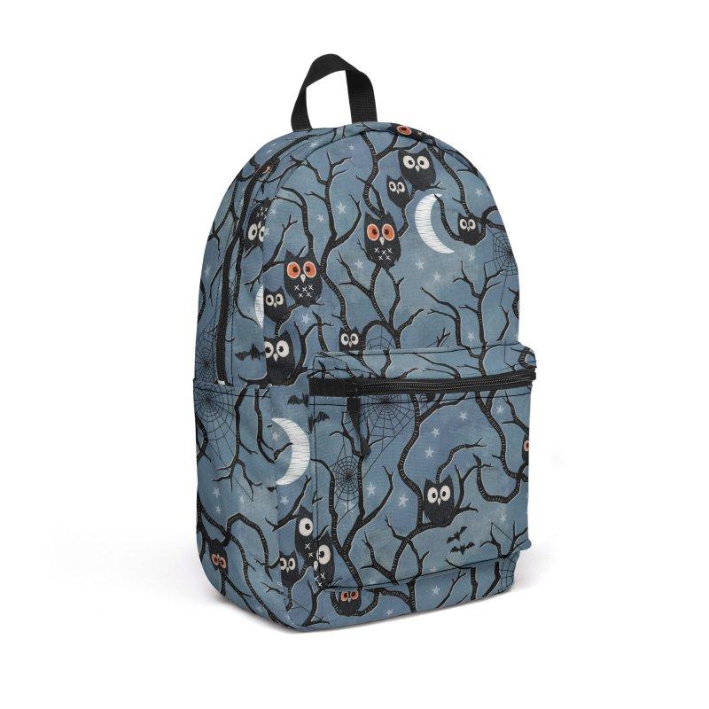 Spooky woods owls Accessories Backpack Bag by AdenaJ